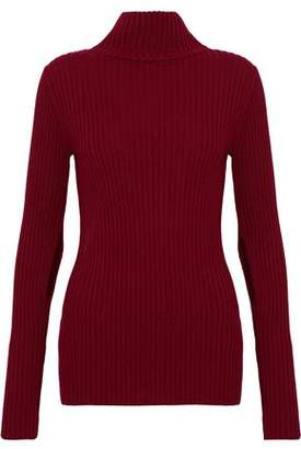 IRO Tchop Ribbed Wool Turtleneck Sweater