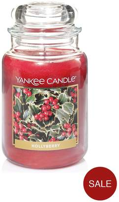 Yankee Candle Large Jar Candle – Hollyberry