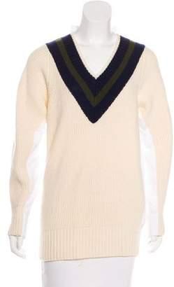 Sacai Luck Wool Knit Sweater