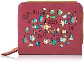 Jocomomola (ホコモモラ) - [ホコモモラ] 折財布 「マヒア」外ラウンドファスナー付折財布 5381300 32 ピンク