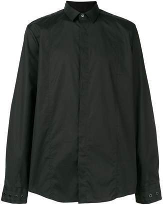 Les Hommes shoulder detail shirt