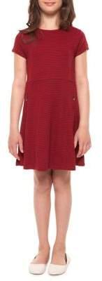 Dex Girl's Striped Dress