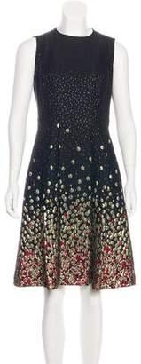 Jason Wu A-Line Brocade Dress