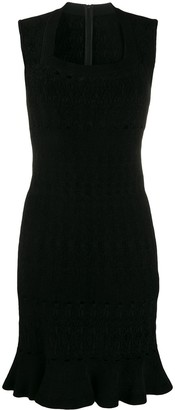 Alaia Pre-Owned 2000's knitted mini dress