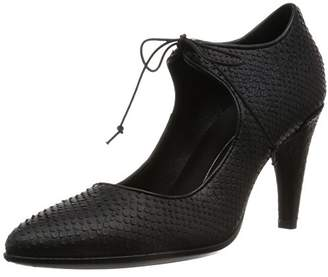 Ecco Women's Shape 75 Pointy Lace Mary Jane Dress Pump