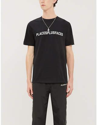 Selfridges Places + Faces 3M reflective cotton-jersey T-shirt