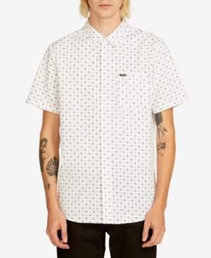 Volcom Men's Salt Dot Short Sleeve Shirt