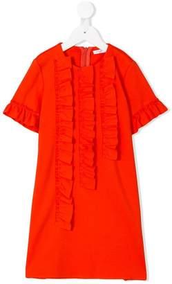 Il Gufo ruffled trim dress