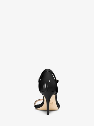 MICHAEL Michael Kors Simone Patent-Leather Sandal