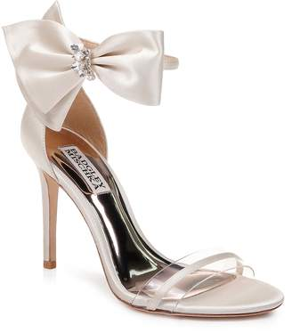 Badgley Mischka Fran Bow Ankle Strap Sandal