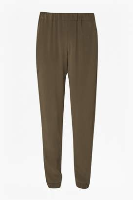 French Connection Darcy Drape Crepe Trousers