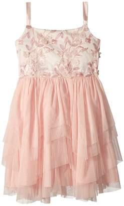 Us Angels 3D Flower Bodice Tutu Dress Girl's Dress