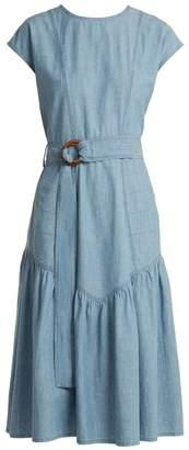 MiH Jeans Aubrey Chambray midi dress