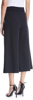 Tahari ASL Rae Tie-Front Culottes Pants