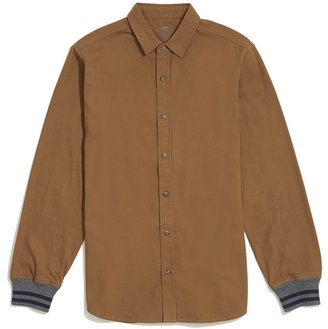 JackThreads Flannel Stripe Cuff Shirt $49 thestylecure.com