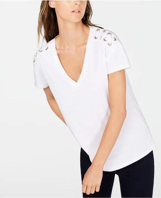 INC International Concepts Inc Cotton Embellished T-Shirt