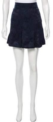 Marc by Marc Jacobs Silk-Blend Mini Skirt