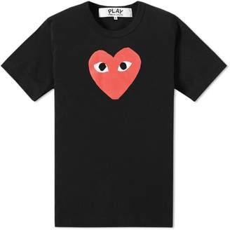 Comme des Garcons Heart Logo Tee