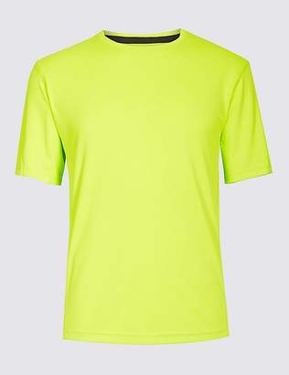 Marks and Spencer Active Performance Mesh T-Shirt