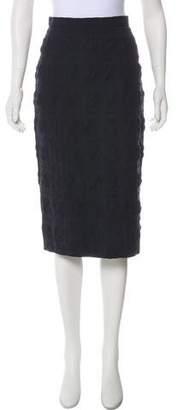 Hache Knee-Length Pencil Skirt