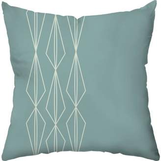 Checkerboard Lifestyle Icicle Lights Holiday Throw Pillow
