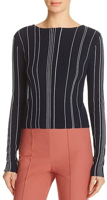 Theory Hankson Striped Sweater $355 thestylecure.com