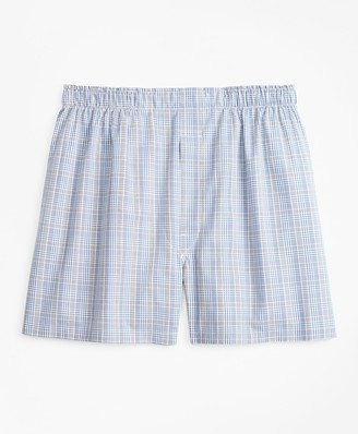 Brooks Brothers Traditional Fit Plaid Boxers
