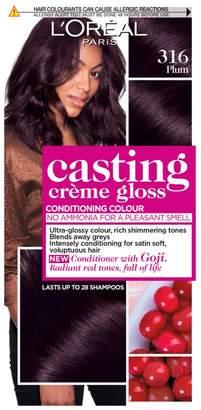 Casting Creme Gloss 316 Plum Semi Permanent Hair Dye