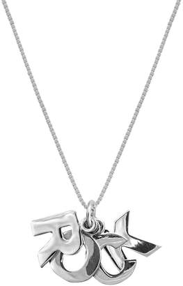 Edge Only - Rock Pendant Silver