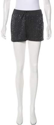 Gryphon Mid-Rise Embellished Shorts