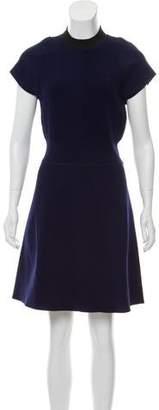 Louis Vuitton Crew Neck Mini Dress