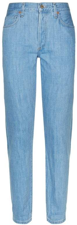 Liya Cropped Classic-Fit Jeans