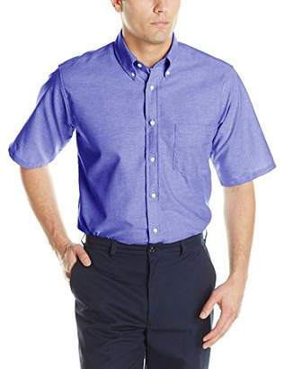 Red Kap Men's Executive Oxford DreShort Sleeve Shirt
