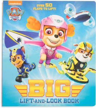 Paw Patrol Big Lift And Look Board Book