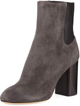 Rag & Bone Agnes Suede Block-Heel Boots