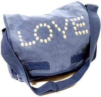 Couture hipchik Canvas Studded Love Messenger Bag