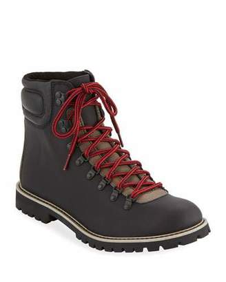 Wolverine Men's Waterproof Two-Tone Leather Hiking Boots