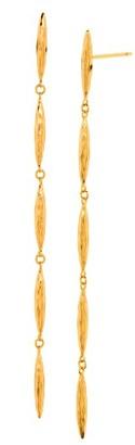 Women's Gorjana Nora Linear Earrings $65 thestylecure.com
