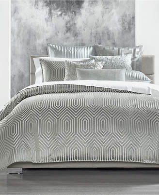 Hotel Collection Lithos King Duvet Cover, Created for Macy's Bedding
