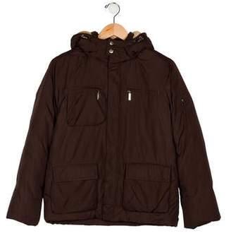 Il Gufo Kids' Down Hooded Coat