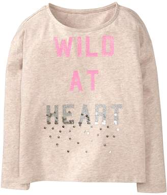 Crazy 8 Crazy8 Sparkle Wild At Heart Tee