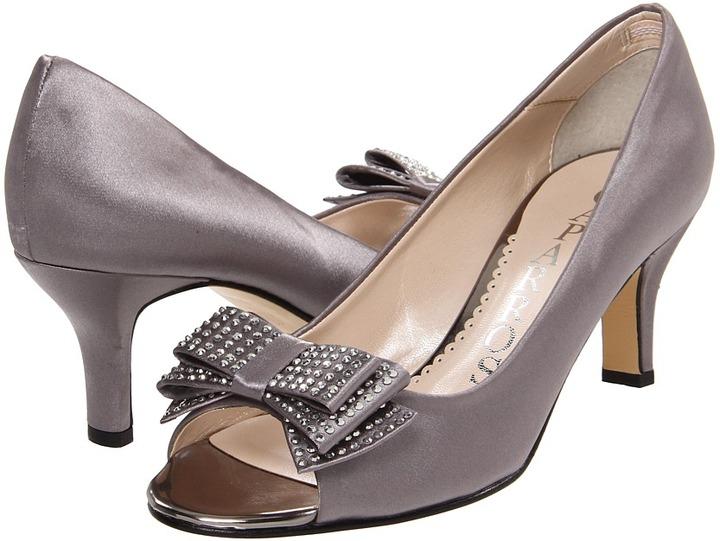 Caparros Bouvier (Slate Satin) - Footwear