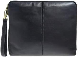 Boconi Leather Portfolio Wristlet