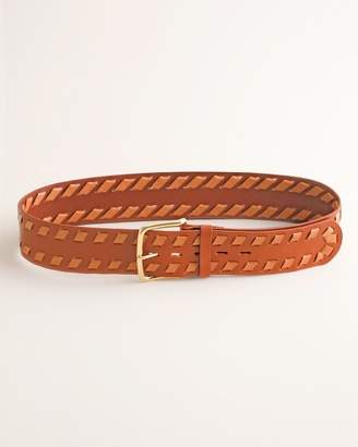 Chico's Chicos Whipstitch Belt