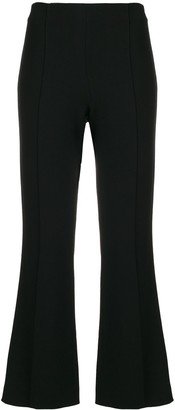 The Row cropped trousers