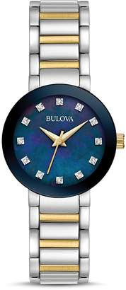 Bulova Modern Two-Tone Watch, 26mm