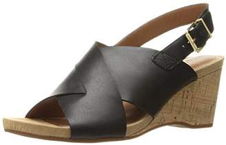 Easy Spirit Women's Lacene Wedge Sandal $21.39 thestylecure.com