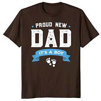 DAY Birger et Mikkelsen Proud New Dad Its A Boy Cute Father's T-Shirt Gift Baby