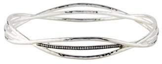 Ippolita Diamond Criss-Cross Wire Bangle