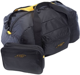N. A.Saks 22-inch Lightweight Carry-on Parachute Nylon Duffel Ba